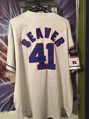 Tom Seaver #41 1966 Jacksonville Suns Jersey Size 56 By Russell Athletic