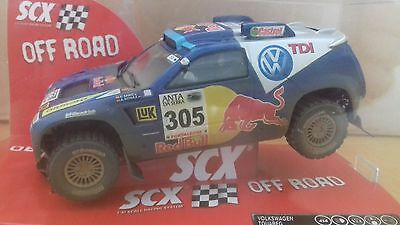 SCX 63050 Volkswagon Touareg Off Road Dirt Effect C Sainz A Schulz No 305 Rare
