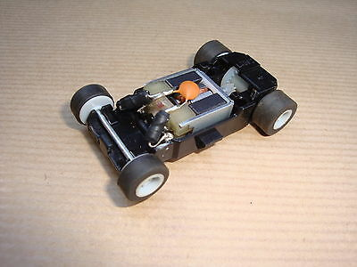 Mint Scalextric Motor With Chassis/guide And Wheels For Micro Cars....