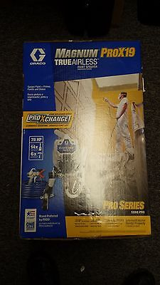 NEW!!! Graco Magnum Pro X19 True Airless Paint Sprayer 17G179 Free Shipping!!!!