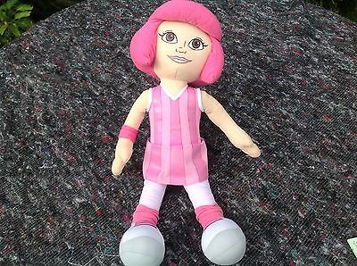 """Lazytown Stephanie Large Plush Toy 24"""" Tall Standing Vgc"""