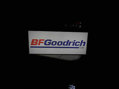 BF Goodrich Lighted Tire Sign