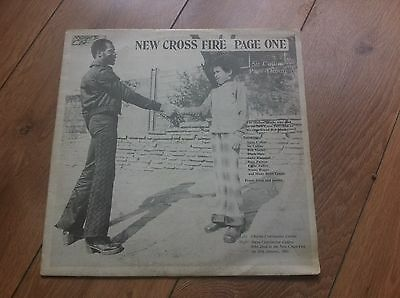 lp SIR COLLINS new cross fire page one 1981 SIR COLLINS MUSIC WHEEL