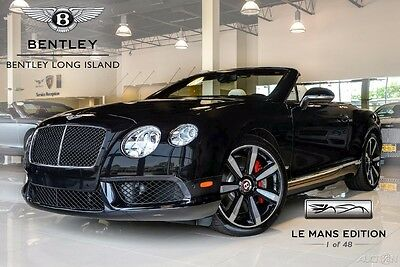 2013 Bentley Continental GT V8 (Le Mans Edition) Offered for Sale by Long Island's Only Factory Authorized Bentley Dealer