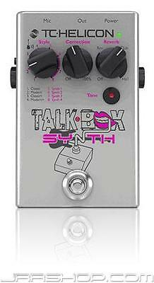 TC Helicon TalkBox Synth Pedal New JRR Shop