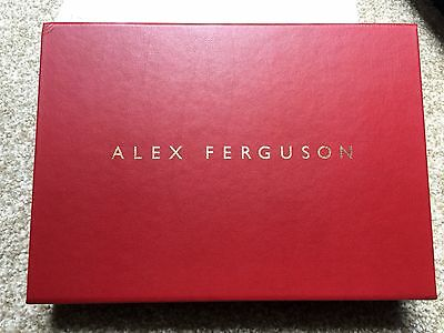 Limited Edition 524/1000 Signed Alex Ferguson autobiography Manchester United