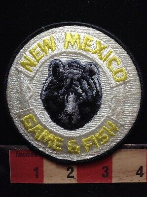 Grrr. BEAR New Mexico Game & Fish Patch ~ Wildlife Conservation S74N