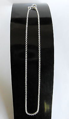 """Sterling  Silver  (925)   Anklet   Chain   (10 """")  !!       Brand    New !!"""
