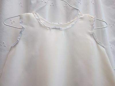 Vintage baby long white slip christening