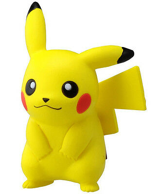 "NEW Official Takaratomy Pokemon X & Y 2"" MC-001 Pikachu Mini Action Figure Toy"