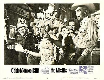 MARILYN MONROE Playing Ping Pong In THE MISFITS 11x14 LC Print 1961