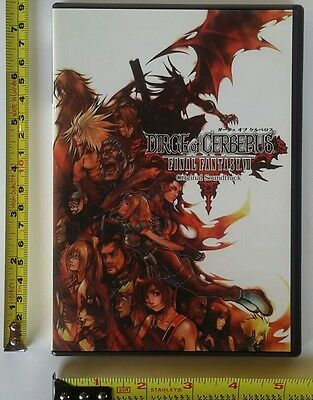 Dirge of Cerberus Original Soundtrack Japan Cd Final Fantasy VII 7 2006 Gackt US