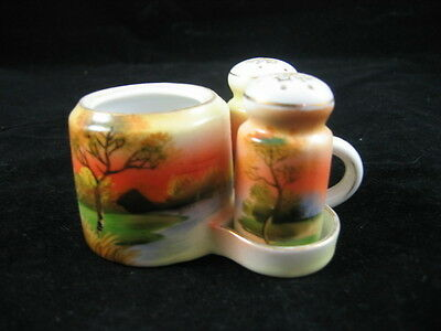 Vintage Sunset Cruet Set - Japan