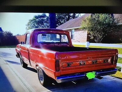 1964 Ford F-100  1964 Ford F100 short bed regular cab