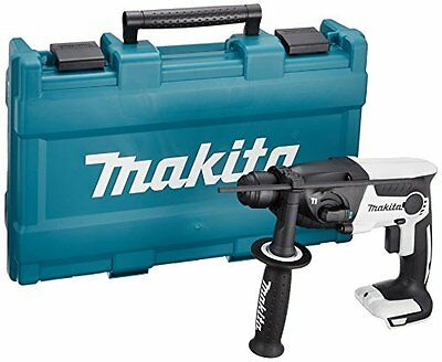 Makita rechargeable hammer drill 18V white body case attaching