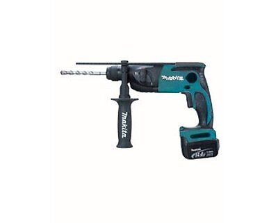 Makita rechargeable hammer drill 14.4 V 3.0 Ah 16 mm with two blue batteries