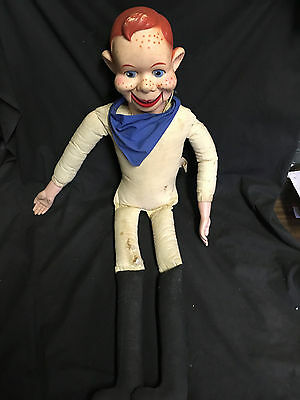Vintage 1973 Howdy Doody Ventriloquist Doll 26 Inch National Broadcasting