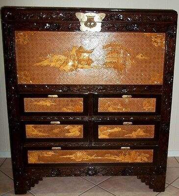 Vintage Chinese BlanketBox/ChestDrawers , circa 1950's , pick up in Geelong .