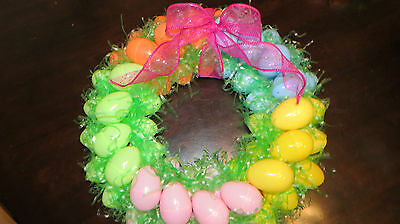 Easter Wreath colorful