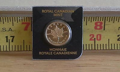 .9999 Canadian Mint 1 Gram Coin