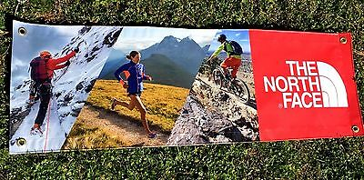 The North Face Banner 3 x 1 Feet Vinyl Ads Sings  Merchandising .Ship Worldwide
