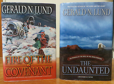 Fire of the Covenant & The Undaunted (2 bks) - Gerald N. Lund