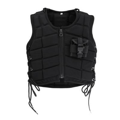 Kids Equestrian Horse Riding Safety Vest Eventer Eventing Body Protector - L