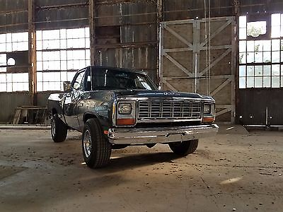 1984 Dodge Other Pickups  1984 DODGE D150 SHOW WINNER!  STROKED!