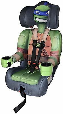 NEW Teenage Mutant Ninja Turtles High Back Booster Car Seat
