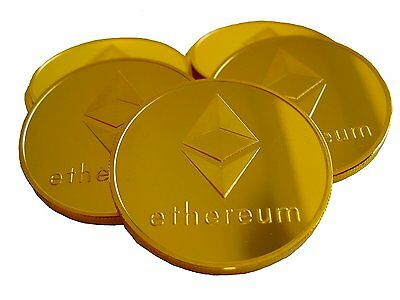 Original Ethereum Coin - Gold Cryptocurrency