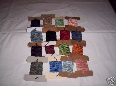 14 Med & Fine Cards-Assorted Colors All Chenille