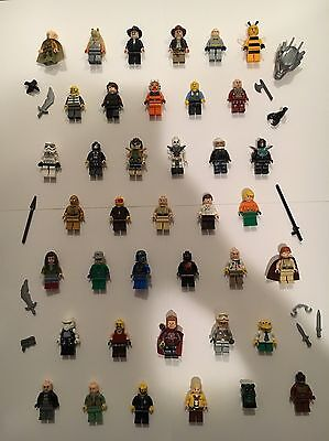 Lego Mini Figures Mixed Lot Star Wars Marvel Lord Of The Rings And More