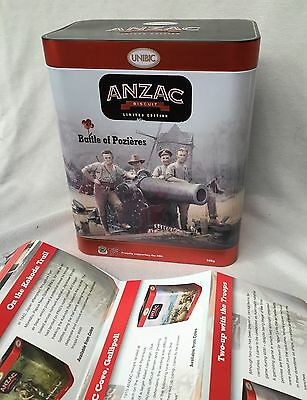 ANZAC Biscuit Tin BATTLE Of POZIERES