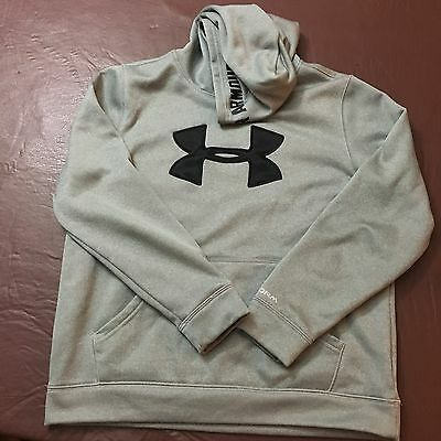Under Armour Hoodie - Youth Large - Grey - Excellent Condition