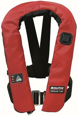 Baltic Argus Car 150N red (Mod. 1597) Automatic lifejacket Automatic vest
