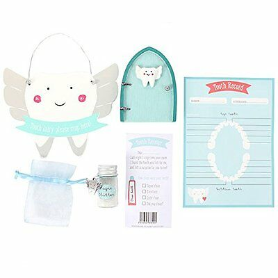 Tooth fairy door kit cute ornament keep sake gift for Fairy door kits canada