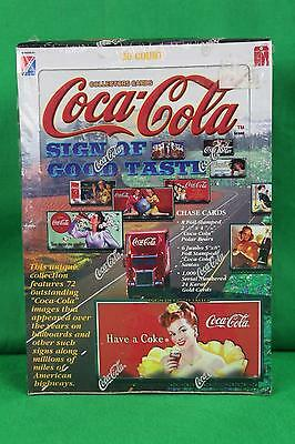1996 Collect A Card Coca Cola Coke Collectors Cards 36 Count Sealed Advertising