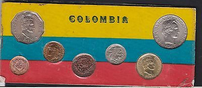 Columbia, 1967 Uncirculated Coin set