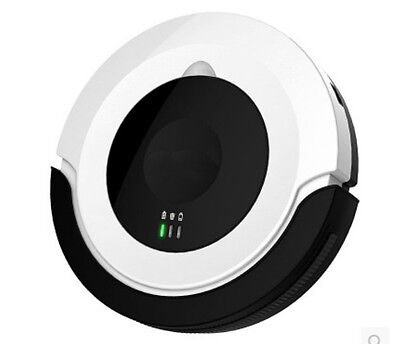 Back+White Intelligent Home Robotic Vacuum Cleaner Automatic Robot Floor Sweeper