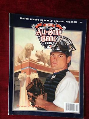 MLB All Star Game Programme Detroit 2005