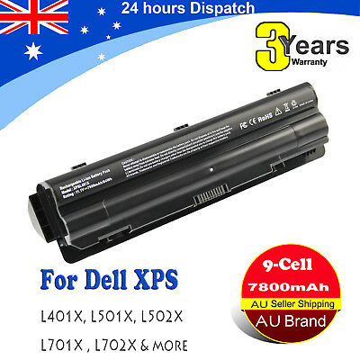 9Cell Replacement Battery for Dell XPS 17 L701X L702X 15 L501X L502X R795X AU