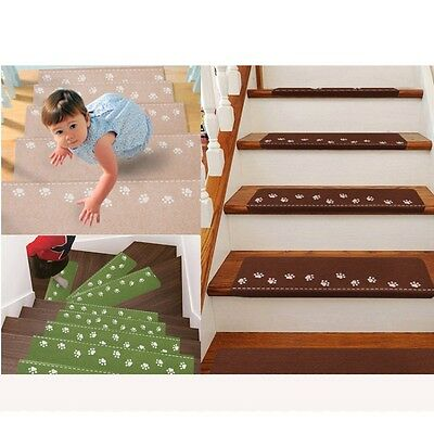 AU Luminous Stair Home Stair Safety Non Skid Carpet Anti Slip Mat Kids Safe Care