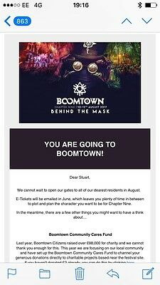 Boomtown Adult Camping E-Ticket