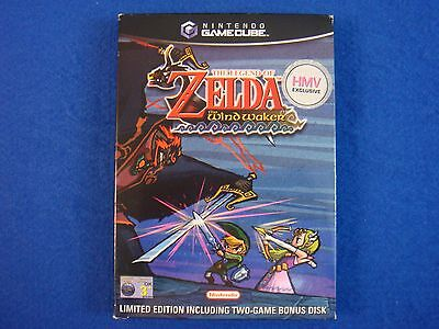 gamecube ZELDA WIND WAKER LIMITED EDITION SLEEVE Uk Exclusive Release *NO GAME*