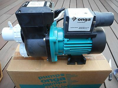 Onga 23740 Bathmaster V2 Spa Bath Heater Pump New In Box .75Hp Bankruptcy Sale