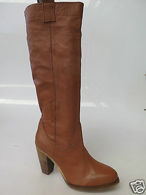 Sale price - Top End - new ladies leather long boot size 37 #92