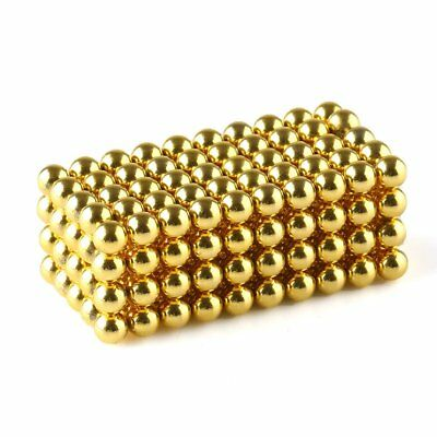 Wholeasle Neodymium Rare Earth Sphere Magnets Ball Dia.3mm/4mm/5mm Gold N42