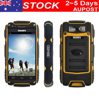 "4.0"" Discovery V8 Rugged 3G Smartphone Rom 4GB Dual Core Android4.4 Mobile Phone"