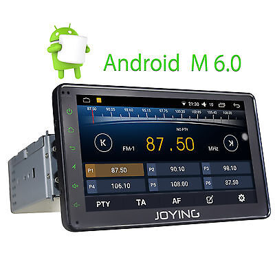 Android 6.0 Single Din Car Audio Stereo with GPS Navi System FM RDS Radio Player