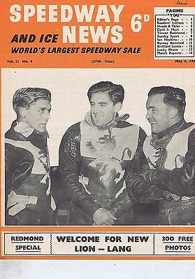 LIONS / ARTHUR FORREST BRADFORD	Speedway News 	May	5	1954